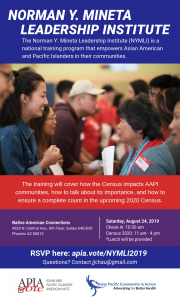 Engaging and Educational Training on How to Mobilize for the Census @ Native American Connections